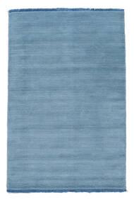 Handloom Fringes - Lichtblauw Vloerkleed 160X230 Modern Lichtblauw (Wol, India)