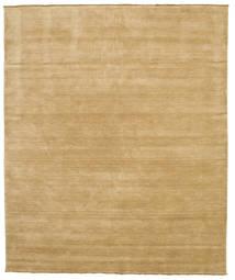 Handloom Fringes - Beige Vloerkleed 250X300 Modern Donkerbeige/Lichtbruin Groot (Wol, India)
