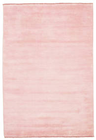 Handloom Fringes - Roze Vloerkleed 160X230 Modern Lichtroze (Wol, India)
