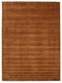 Handloom Fringes - Bruin Vloerkleed 300X400 Modern Bruin Groot (Wol, India)