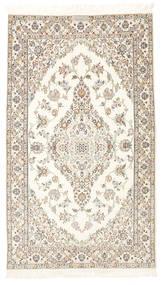Nain 6La Habibian Vloerkleed 103X177 Echt Oosters Handgeknoopt Beige/Lichtgrijs (Wol/Zijde, Perzië/Iran)