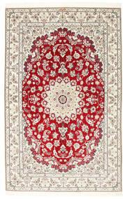 Nain 6La Habibian Vloerkleed 150X230 Echt Oosters Handgeknoopt Lichtgrijs/Beige (Wol/Zijde, Perzië/Iran)