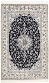 Nain 6La Habibian Vloerkleed 160X253 Echt Oosters Handgeknoopt Lichtgrijs/Beige (Wol/Zijde, Perzië/Iran)