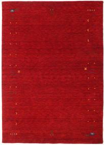 Gabbeh Loom Frame - Rood Vloerkleed 160X230 Modern Rood/Donkerrood (Wol, India)