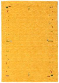 Gabbeh Loom Frame - Geel Vloerkleed 140X200 Modern Oranje (Wol, India)