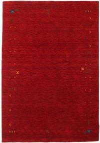 Gabbeh Loom Frame - Rood Vloerkleed 140X200 Modern Donkerrood/Rood (Wol, India)
