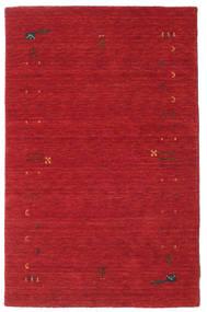 Gabbeh Loom Frame - Roestkleur Rood Vloerkleed 100X160 Modern Rood (Wol, India)