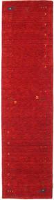 Gabbeh Loom Frame - Rood Vloerkleed 80X300 Modern Tapijtloper Rood (Wol, India)