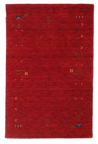 Gabbeh Loom Frame - Rood Vloerkleed 100X160 Modern Rood/Donkerrood (Wol, India)