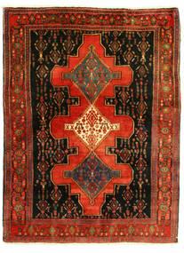 Senneh Vloerkleed 126X175 Echt Oosters Handgeknoopt (Wol, Perzië/Iran)