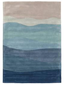 Feeling Handtufted - Blauw Vloerkleed 160X230 Modern Lichtblauw/Lichtgrijs/Blauw (Wol, India)