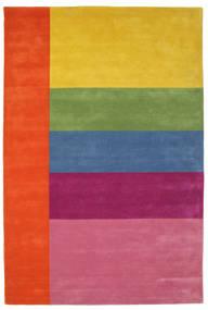 Colors By Meja Handtufted Vloerkleed 200X300 Modern Roze/Geel (Wol, India)