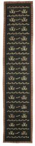 Kelim Bulgarian Vloerkleed 174X850 Echt Oosters Handgeweven Tapijtloper Donkergrijs (Wol, Bulgarije)