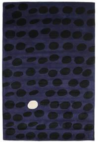Camouflage Handtufted - Donker Vloerkleed 200X300 Modern Zwart/Donkerblauw (Wol, India)