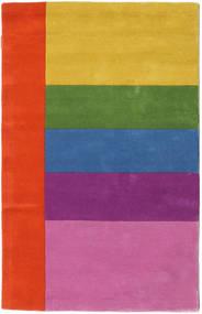 Colors By Meja Handtufted Vloerkleed 100X160 Modern Roze/Roestkleur (Wol, India)