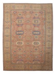 Egypt Vloerkleed 418X559 Echt Oosters Handgeknoopt Bruin/Donkerrood Groot (Wol, Egypte)