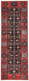 Saveh Patina Vloerkleed 100X303 Echt Oosters Handgeknoopt Tapijtloper Donkerbruin/Donkerrood (Wol, Perzië/Iran)