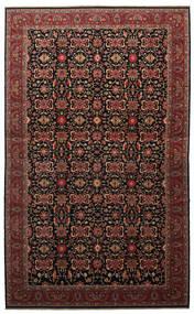 Malayer Vloerkleed 505X817 Echt Oosters Handgeknoopt Donkerbruin/Donkerrood Groot (Wol, Perzië/Iran)