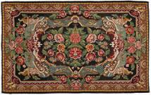 Rozenkelim Vloerkleed 220X345 Echt Oosters Handgeweven Donkergrijs/Donkerbruin (Wol, Moldavië)