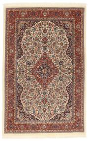 Ilam Sherkat Farsh Zijde Vloerkleed 104X160 Echt Oosters Handgeknoopt Donkerbruin/Lichtbruin (Wol/Zijde, Perzië/Iran)