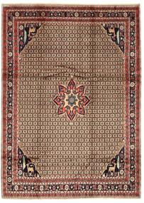 Koliai Vloerkleed 205X280 Echt Oosters Handgeknoopt Donkerrood/Lichtbruin (Wol, Perzië/Iran)