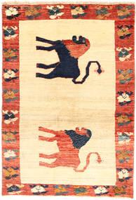 Ghashghai Vloerkleed 137X200 Echt Oosters Handgeknoopt Geel/Beige (Wol, Perzië/Iran)