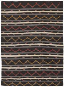 Kelim Semi-Antiek Turkije Vloerkleed 240X335 Echt Oosters Handgeweven Donkerbruin/Lichtbruin (Wol, Turkije)