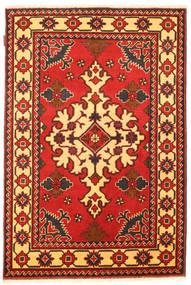 Kazak Vloerkleed 102X157 Echt Oosters Handgeknoopt Roestkleur/Donkerbruin (Wol, Pakistan)