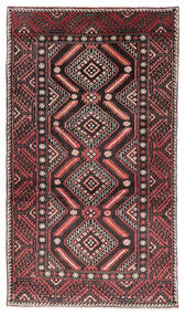 Ghashghai Vloerkleed 110X195 Echt Oosters Handgeknoopt Donkerrood/Donkerbruin (Wol, Perzië/Iran)