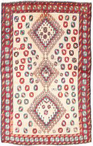 Ghashghai Vloerkleed 120X188 Echt Oosters Handgeknoopt Beige/Lichtgrijs (Wol, Perzië/Iran)