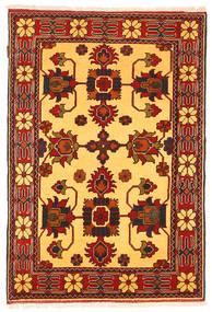 Kazak Vloerkleed 102X160 Echt Oosters Handgeknoopt Roestkleur/Lichtbruin (Wol, Pakistan)
