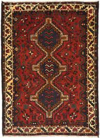 Ghashghai Vloerkleed 114X159 Echt Oosters Handgeknoopt Donkerbruin/Roestkleur (Wol, Perzië/Iran)