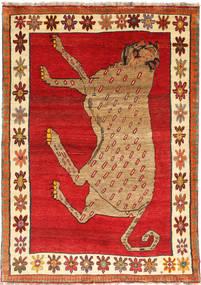 Ghashghai Vloerkleed 140X195 Echt Oosters Handgeknoopt Roestkleur/Bruin (Wol, Perzië/Iran)