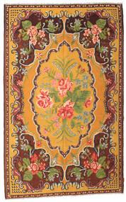 Rozenkelim Moldavia Vloerkleed 187X298 Echt Oosters Handgeweven Donkerbruin/Oranje (Wol, Moldavië)