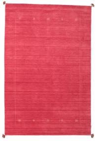 Loribaf Loom Vloerkleed 189X288 Echt Modern Handgeknoopt Rood/Roze (Wol, India)