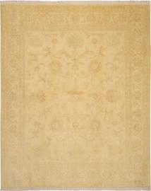 Tabriz 50 Raj Met Zijde Vloerkleed 205X252 Echt Oosters Handgeknoopt Donkerbeige/Lichtbruin (Wol/Zijde, Perzië/Iran)