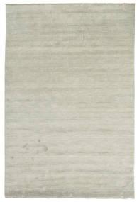 Handloom Fringes - Grijs/Licht Groen Vloerkleed 200X300 Modern Lichtgrijs/Lichtbruin (Wol, India)