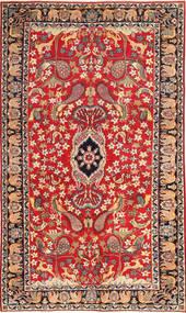 Najafabad Patina Figuratief/Geïllustreerd Vloerkleed 188X320 Echt Oosters Handgeknoopt Roestkleur/Donkerrood (Wol, Perzië/Iran)