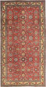 Tabriz Patina Vloerkleed 168X318 Echt Oosters Handgeknoopt Donkerrood/Lichtbruin (Wol, Perzië/Iran)