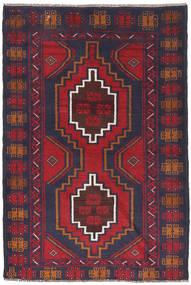 Beluch Vloerkleed 88X130 Echt Oosters Handgeknoopt Donkergrijs/Roestkleur (Wol, Afghanistan)