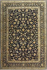 Keshan Patina Vloerkleed 255X385 Echt Oosters Handgeknoopt Zwart/Lichtbruin Groot (Wol, Perzië/Iran)