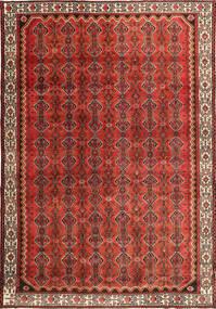 Hamadan Patina Vloerkleed 260X383 Echt Oosters Handgeknoopt Donkerbruin/Roestkleur/Donkerrood Groot (Wol, Perzië/Iran)
