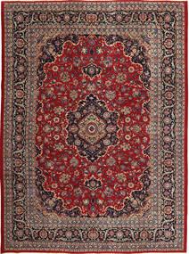 Kashmar Patina Vloerkleed 250X333 Echt Oosters Handgeknoopt Donkerrood/Donkerbruin Groot (Wol, Perzië/Iran)