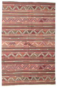 Kelim Semi-Antiek Turkije Vloerkleed 175X270 Echt Oosters Handgeweven Lichtbruin/Bruin (Wol, Turkije)