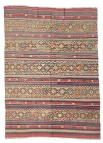 Kelim Semi-Antiek Turkije Vloerkleed 176X240 Echt Oosters Handgeweven Bruin/Donkerbruin (Wol, Turkije)