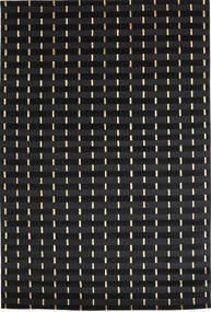 Himalaya Vloerkleed 168X247 Echt Modern Handgeknoopt Zwart ( India)