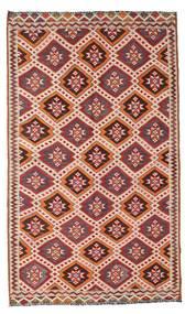Kelim Semi-Antiek Turkije Vloerkleed 167X283 Echt Oosters Handgeweven Donkerrood/Beige (Wol, Turkije)