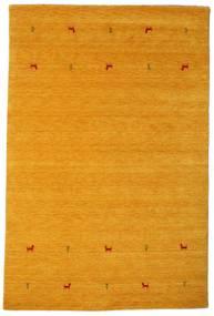 Gabbeh Loom Two Lines - Geel Vloerkleed 190X290 Modern Lichtbruin/Geel (Wol, India)