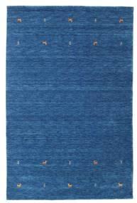 Gabbeh Loom Two Lines - Blauw Vloerkleed 190X290 Modern Donkerblauw/Blauw (Wol, India)