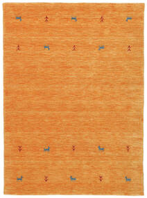 Gabbeh Loom Two Lines - Oranje Vloerkleed 140X200 Modern Oranje (Wol, India)
